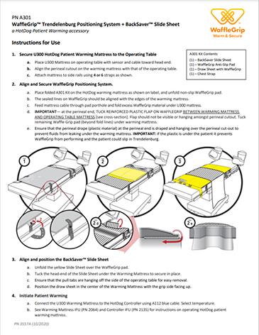 A301 WaffleGrip BackSaver IFU 3557
