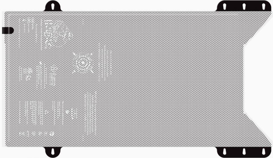WaffleGrip over U300 Trendelenburg Position Warming Mattress
