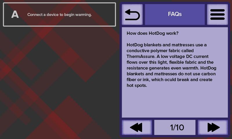 HotDog Patient Warming WC71 Temperature Management Controller FAQs