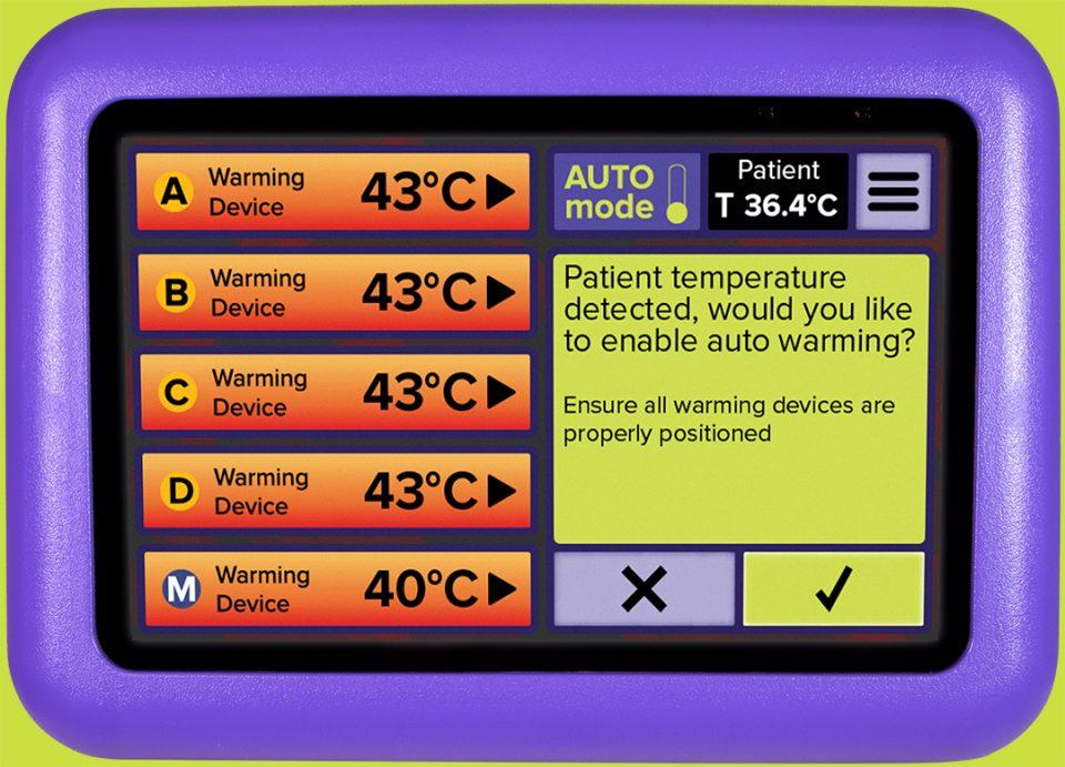 HotDog Patient Warming WC77 Temperature Management Controller Patient Temperature Detected
