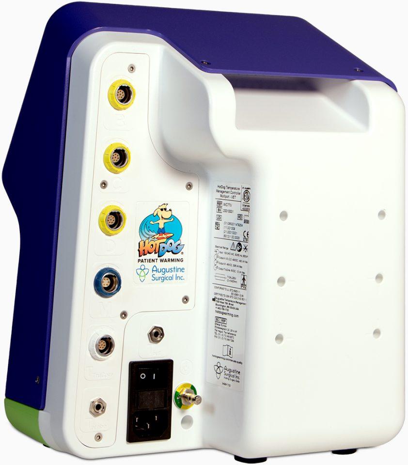 HotDog Patient Warming WC77 Temperature Management Controller Rear View