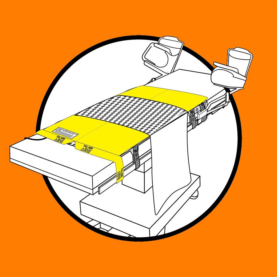 WaffleGrip Trendelenburg Positioning System and BackSaver Slide Sheet Step 3