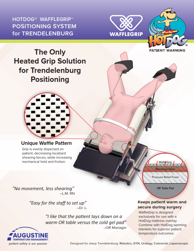 HotDog Patient Warming WaffleGrip Brochure
